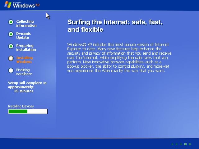 Cara Install Windows XP (Lengkap Dengan Gambar) 8