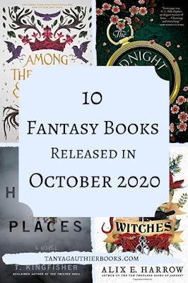 10 Fantasy Books Released in October 2020