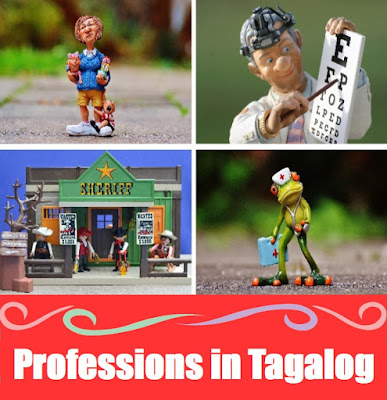 Profession Word List in Tagalog