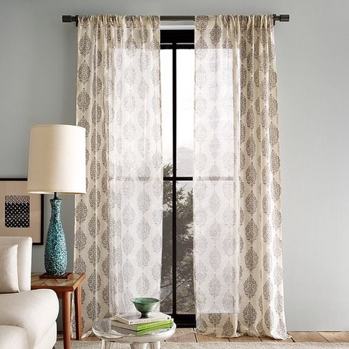 Modern curtain ideas for living room