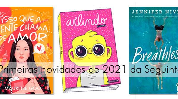 As primeiras novidades de 2021 da Editora seguinte