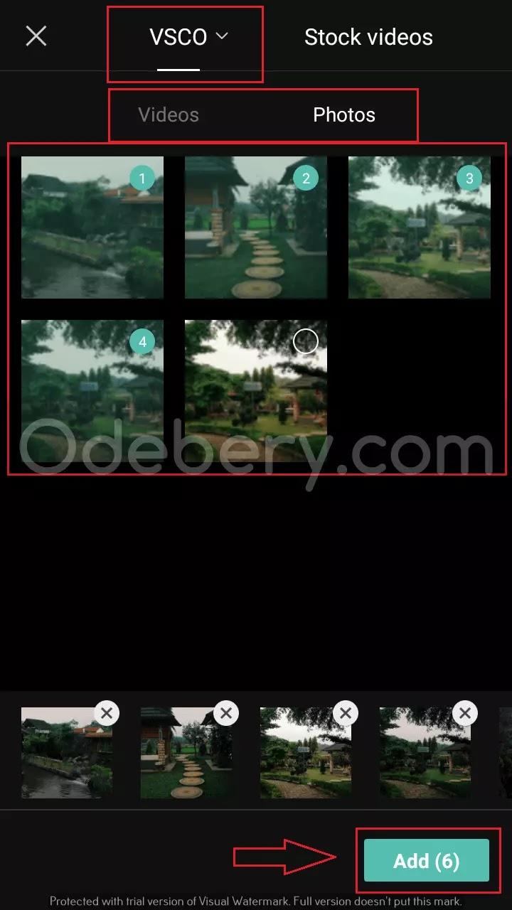 2. Pilih Foto atau Video