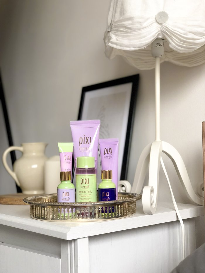 A First Look At: Pixi's Retinol and Jasmine Collection for renewing and rejuvenating the skin.