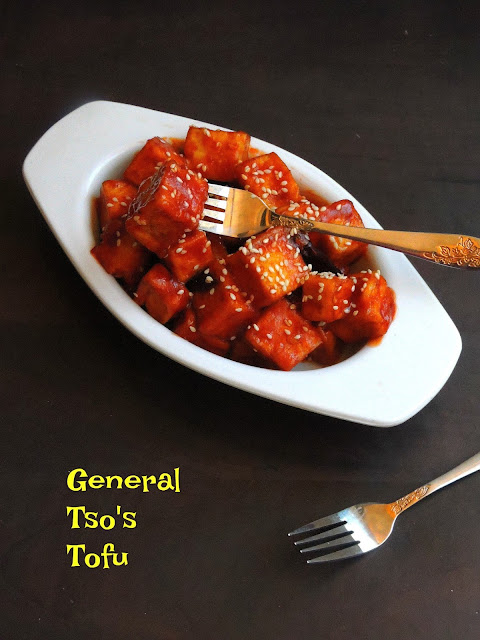 General Tso's Tofu, Vegan General Tso's Tofu