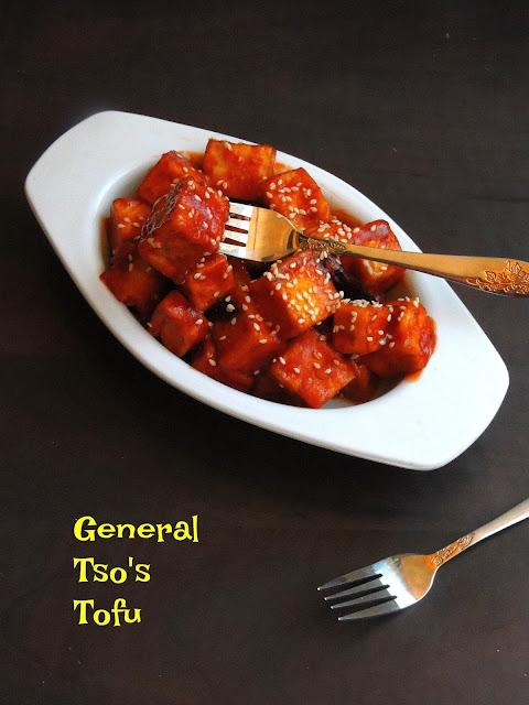 General Tso's Tofu, Vegan General Tso's Tofu