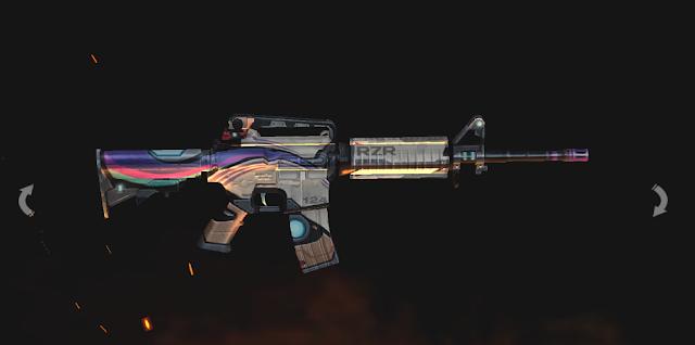 Review Skin Senjata Terbaru Tema AI Gun Box Free Fire
