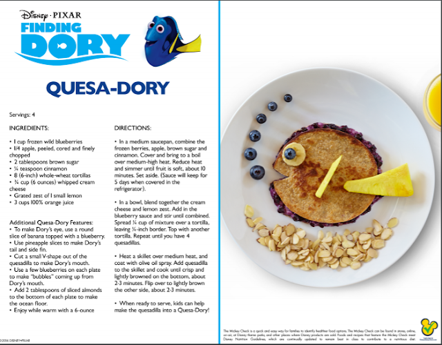 Zensible mama finding dory themed party kit and recipes for your download and print pdf file here quesa dory forumfinder Gallery