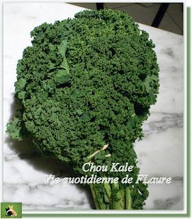 Vie quotidienne de FLaure : Chou kale au bacon, à la provençale