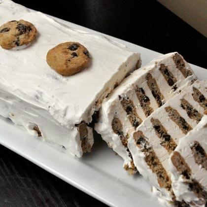 Chocolate Chip Ice Box Cake Recipe