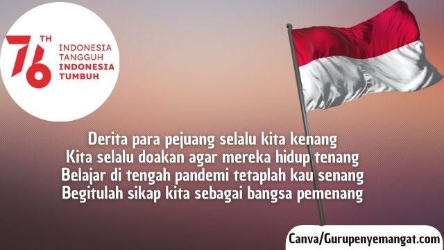Pantun Kemerdekaan Indonesia di Tengah Pandemi Corona