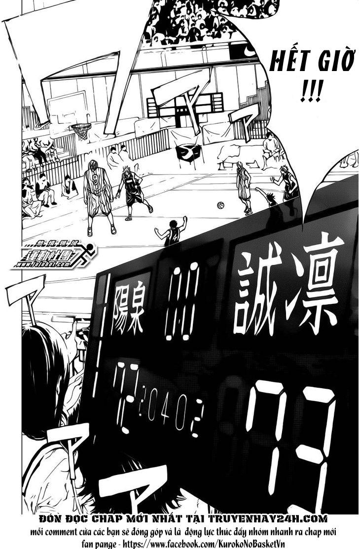 Kuroko No Basket chap 169 trang 4