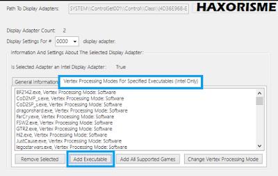 Setting Vertex Adapter Untuk PES 6