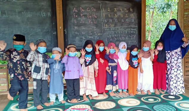 Peduli Pendidikan, Padepokan Mundingwangi Beri Solusi Ditengah Pandemik Covid-19