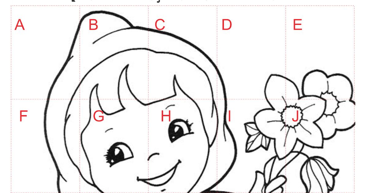 Quebra-cabeça Chapeuzinho Vermelho Letras Do Alfabeto