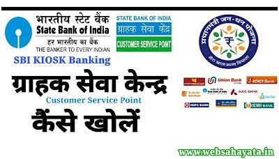 Bank Ka Grahak Seva Kendra Kaise Khole Poori Jankari