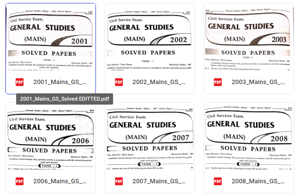 upsc-mains-solved-papers-(2001-2016)