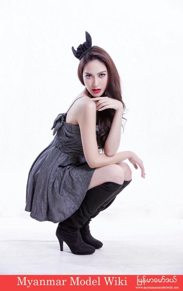 Sue Sha Naing (Aka) Patricia shows off her make up skill and fashion sense in new photoshoot