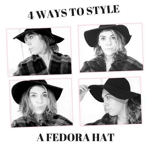 4 Ways To Style A Fedora Hat //
