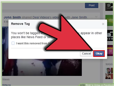 How to Untag People on Facebook