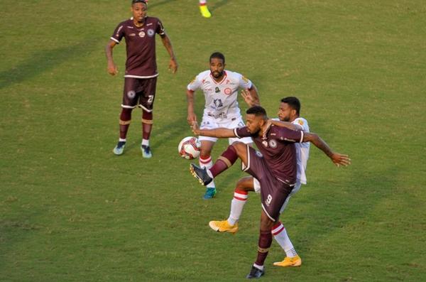 Tombense e Jacuipense empatam pela Série C do Brasileiro