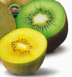 kiwi gold, kiwi hijau