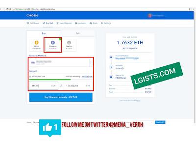 Bitcoin coinbase topup