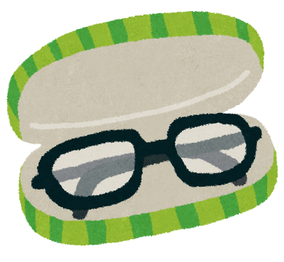 図:メガネ