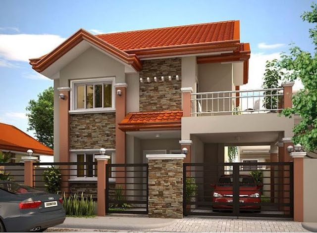 2 storey bungalow design