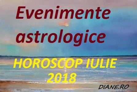 Evenimente astrologice în horoscopul lunii iulie 2018