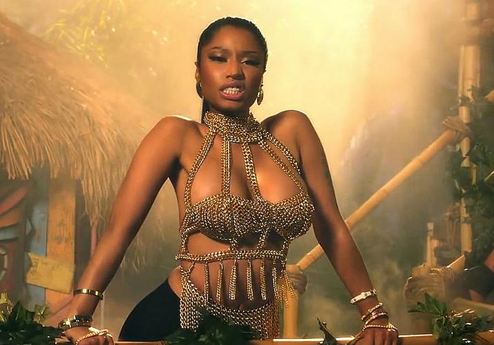 Nicki Minaj clipe Anaconda