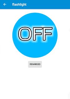 flashlight button off