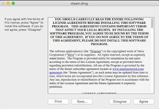 Licenza Steam Mac