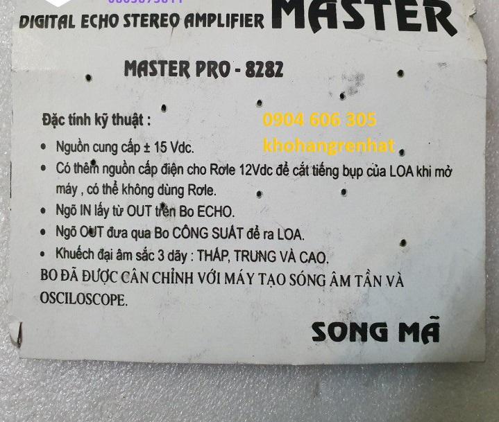 Mạch master pro Song Mã