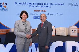 Prof. Hélène Rey delivers Exim Bank's 35th Commencement Day Annual Lecture