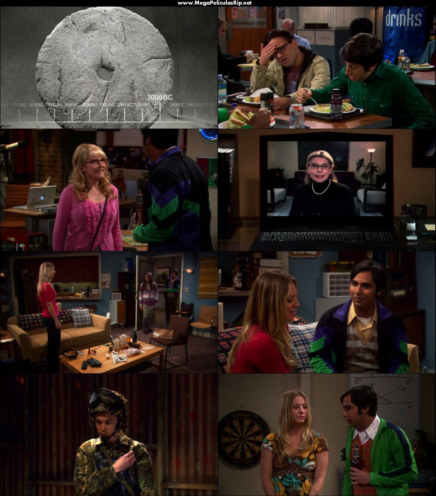 The Big Bang Theory Temporada 5 1080p Latino