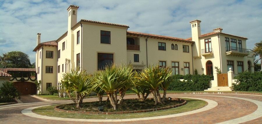 Mansiones frente al mar