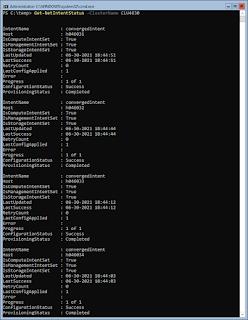 Get-NetIntentStatus -ClusterName CLU4630
