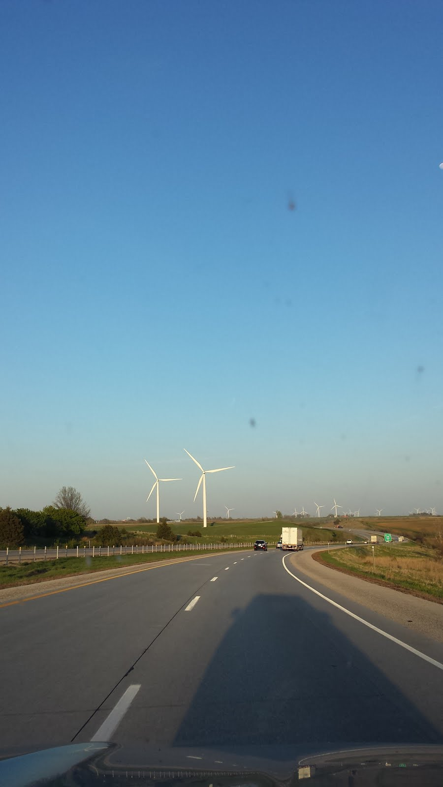Wind farms, obstructed by Walker in Wisconsin