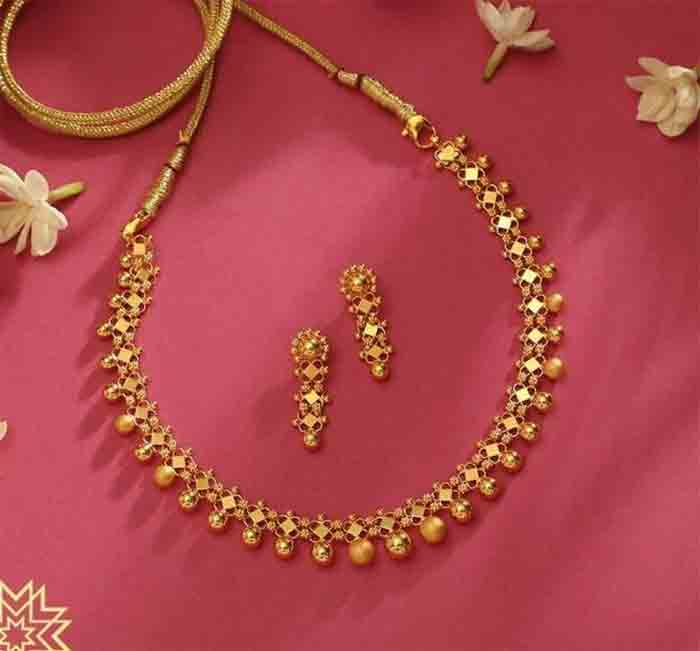 In the state, gold price fell by Rs 400 to Rs 38,000 per sovereign, Kochi, News, Gold, Gold Price, Business, Kerala
