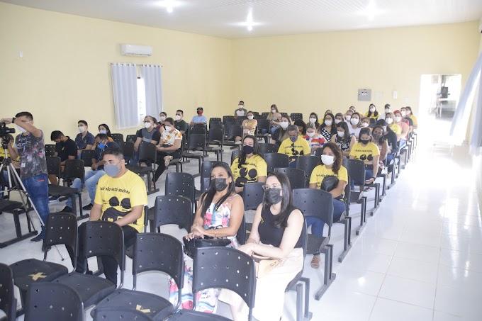 """CAPS Cariré promoveu a palestra sobre """"Setembro Amarelo - mês de prevenção ao suicídio"""""""