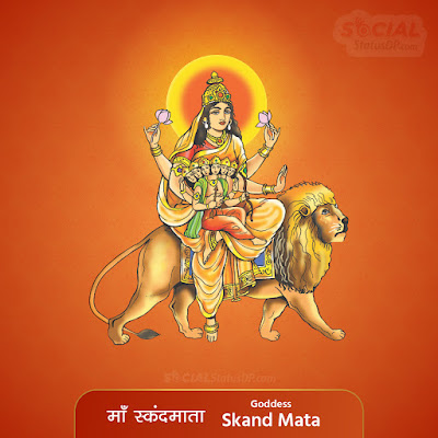 Maa Skandamata Image - Nav Durga Images with Names, Mantra, Slokas, Wallpaper