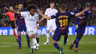 ملخص ونتيجة واهداف مباراة برشلونة وريال مدريد اليوم 6/2/2019 Real Madrid vs Barcelona كلاسيكو الارض