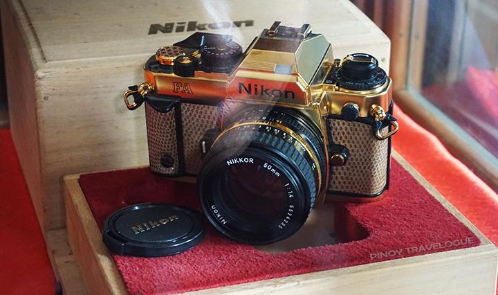 Gold plated Nikon FA SLR Camera