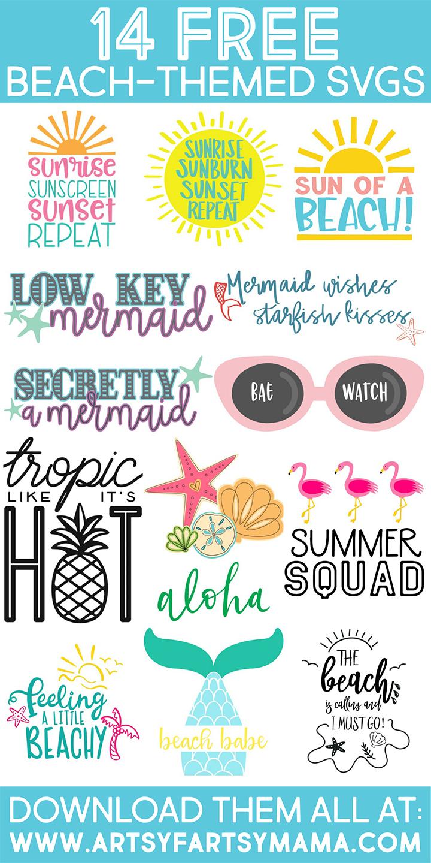 Tropic Like It S Hot Shirt With 14 Free Beachy Cut Files Artsy Fartsy Mama