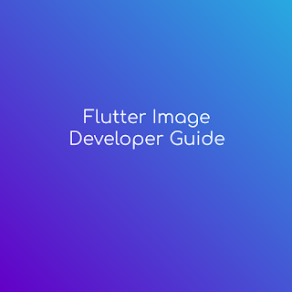 flutter image developer guide