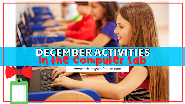 December Activities for the Computer Lab