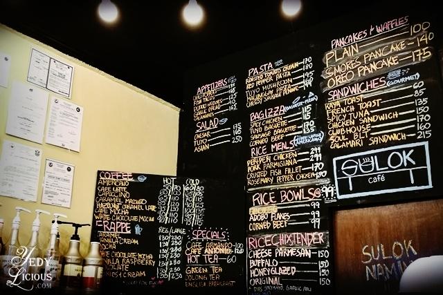 SULOK CAFE MENU, Sulok Cafe Restaurant Antipolo City, Sulok Cafe Blog Review Menu Address, Cafes and Restaurants in Antipolo City, Antipolo Food Trip YedyLicious Manila Food Blog Yedy Calaguas