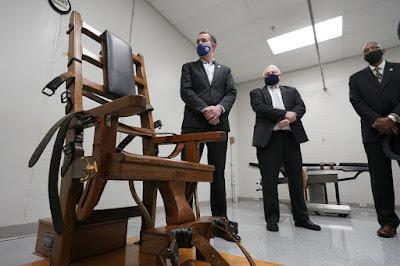 Gov. Ralph Northam in Virginia's death chamber