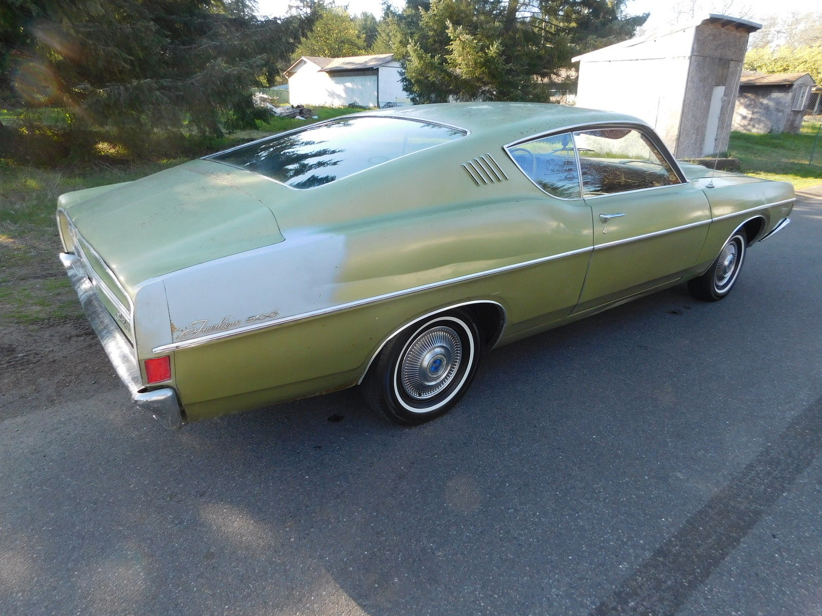 Daily Turismo: Auction Watch: 1968 Ford Fairlane 500 Fastback