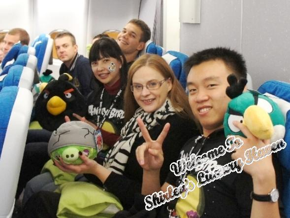 finnair angry birds asian challenge team